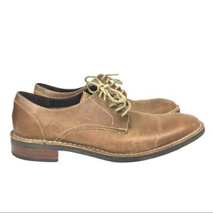 Cole Haan Brown Leather Lace Up Dress Shoes